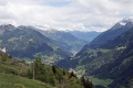 Gotthardpass view direction Leventina